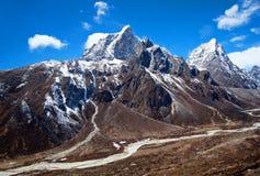 Sagarmatha National Park, Nepal Himalaya Royalty Free Stock Image
