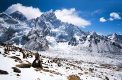Sagarmatha National Park, Nepal Himalaya Royalty Free Stock Photo