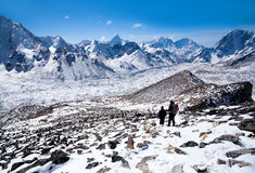 Sagarmatha National Park, Nepal Himalaya Royalty Free Stock Photography