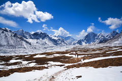 Sagarmatha National Park, Nepal Himalaya Stock Photo