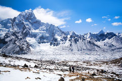 Sagarmatha National Park, Nepal Himalaya Royalty Free Stock Photos