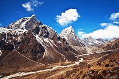 Sagarmatha national park, Nepal Stock Photo