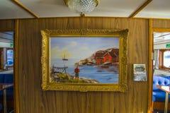 Sagasund del milivoltio (pintura en el salón) Fotos de archivo libres de regalías