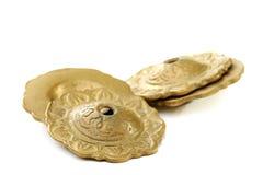 Sagat - instrument de percussion utilisé dans la danse de ventre. photographie stock libre de droits