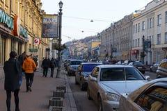 Sagaydachnogo Street Royalty Free Stock Photography