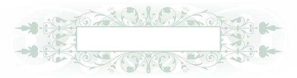 Sage banner Stock Image
