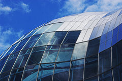 Sage curve. Curved profile of the Sage, Gateshead royalty free stock photos