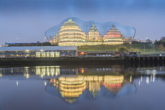 Sage Gateshead Tyne e l'usura Immagini Stock Libere da Diritti