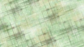 Sage Green en Bruine Lijnen en Sterren Stock Afbeeldingen