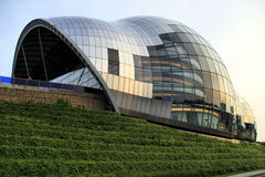 Sage Music Centre. On the banks of the River Tyne at Gateshead, Tyne & Wear, England, UK Royalty Free Stock Photos