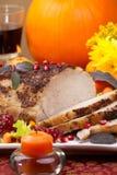 Sage  Mustard Roast Tenderloin Pork Stock Images