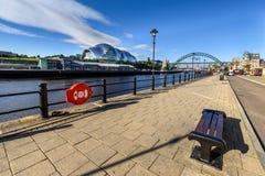 Sage Newcastle het UK stock foto