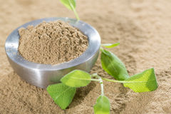 Sage Powder Royalty Free Stock Photography