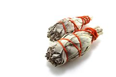 Sage Smudge Stock Images