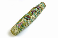 Sage smudge stick Stock Photos