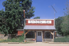 Sagebrush Caf� near Taft, CA Royalty Free Stock Images