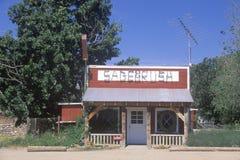 Sagebrush Caf� near Taft, CA Royalty Free Stock Images