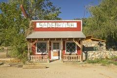 Sagebrush cafe arkivfoton