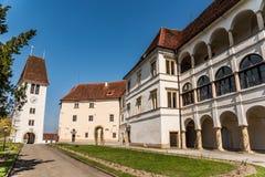 Saggau slott i Leibniz Styria Österrike Royaltyfri Foto