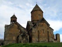 Saghmosavank修道院在亚美尼亚 免版税库存照片