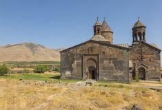 Saghmosavank修道院 免版税库存照片