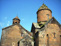 Saghmosavank Monastery, Armenia Stock Photos