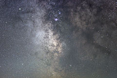 Sagitario de la galaxia de la vía láctea Base de la vía láctea Cielo nocturno hermoso Noche estrellada real Cielo nocturno real Fotos de archivo