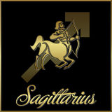 Sagittaire Photographie stock