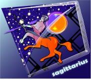 Sagittaire d'Astro illustration de vecteur