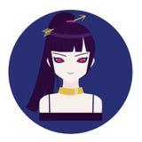 Sagittaire d'icône de zodiaque d'horoscope Images libres de droits