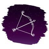 sagittarius также вектор иллюстрации притяжки corel Стоковые Изображения