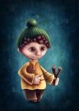 Sagittarius astrological sign boy. Illustration with sagittarius astrological sign boy Stock Illustration