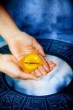Sagittarius astrologico del segno Fotografia Stock Libera da Diritti
