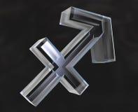 Sagittarius astrology symbol Stock Image