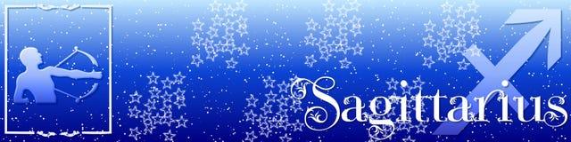 Sagittarius van de banner Royalty-vrije Stock Fotografie