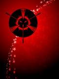 Sagittarius zodiac background Stock Image