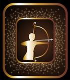 Sagittarius zodiac sign Royalty Free Stock Image