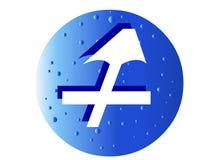Sagittarius Zodiac Sign royalty free stock photo