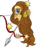 Sagittarius zodiac sign Stock Photo