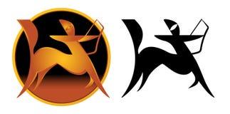 Sagittarius Zodiac Sign royalty free stock images