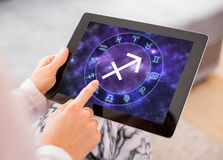Sagittarius zodiac sign Royalty Free Stock Photo