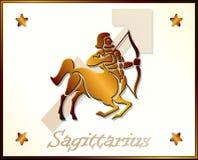 Sagittarius Zodiac Star Sign Royalty Free Stock Photography