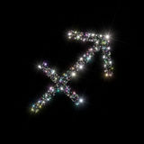 sagittariusstjärnazodiac Arkivbild