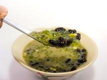 Free Sago With Black Eyed Peas Dessert(Thai Dessert) On White Background Stock Photos - 65535453