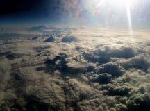 sagolik sky arkivbild