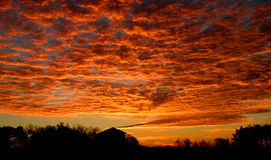 sagolik sky Arkivbilder