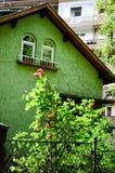 sagolikt hus arkivbilder