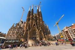 Sagrada Barcelona Familia - Hiszpania Fotografia Royalty Free