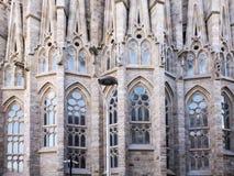 Sagrada de Familia by Antomio Gaudi. Spain royalty free stock photography