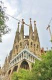 Sagrada Família, Barcelona. The Sagrada Familia - The Holy Family - is a catholic basilica in Barcelona, Catalonia, dating back to 1882 and royalty free stock photo